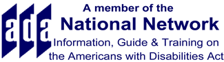 A member of the National Network, information, guide and training on the americans with disabilities act